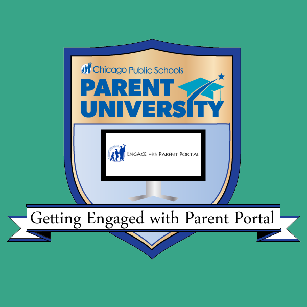 Getting Engaged with Parent Portal Badge.